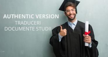 Traduceri documente de studii